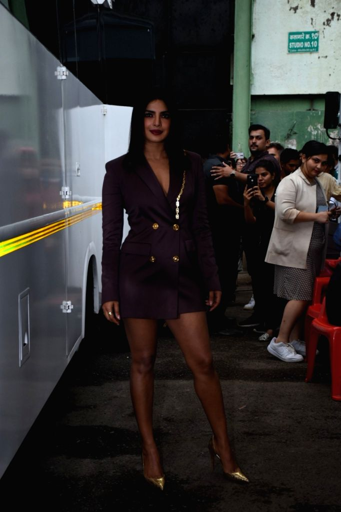 "Actress Priyanka Chopra during the promotions of her upcoming film ""The Sky Is Pink"" in Mumbai on Sep 25, 2019. - Priyanka Chopra"