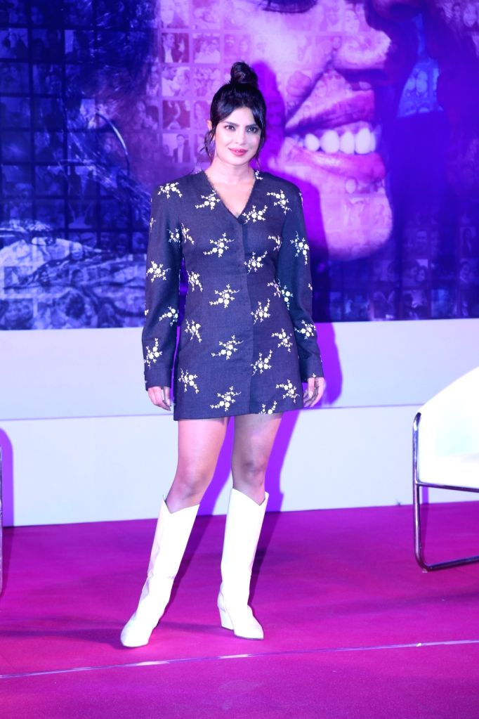 "Actress Priyanka Chopra during the promotions of her upcoming film ""The Sky Is Pink"" in Mumbai on Oct 6, 2019. - Priyanka Chopra"