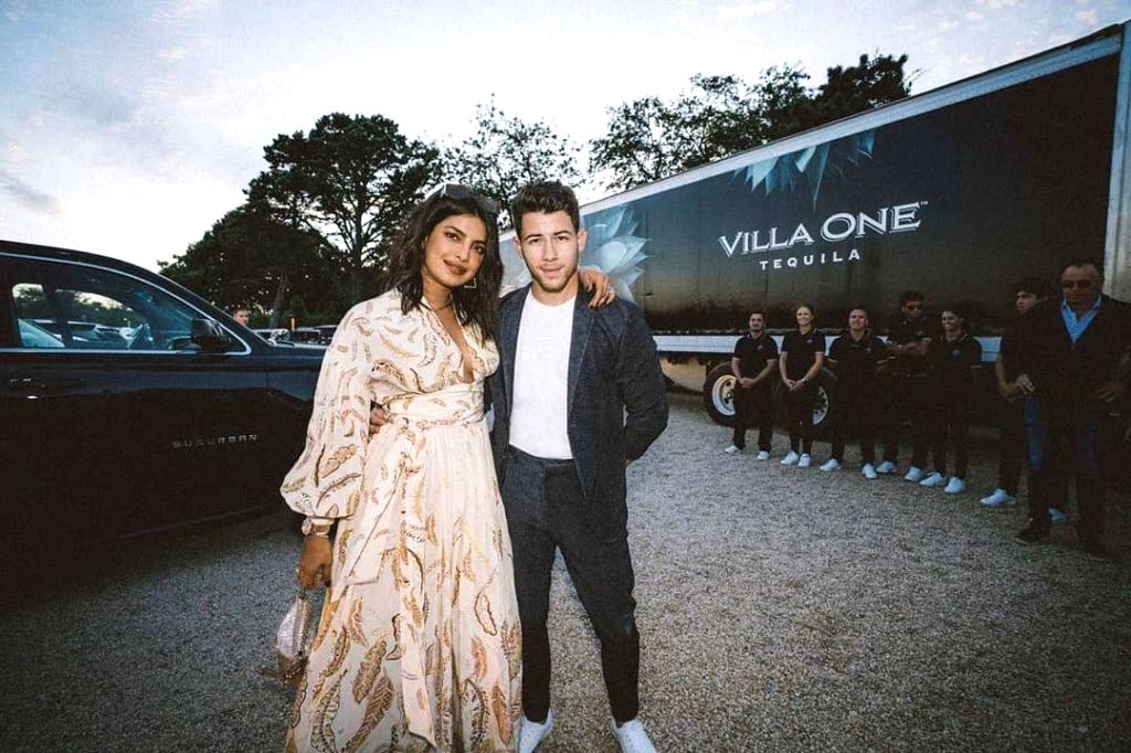 Actress Priyanka Chopra got husband Nick Jonas' age wrong on social media while praising him for his new tequila venture. Priyanka took to Instagram to share a photograph of herself with Nick, to ... - Priyanka Chopra