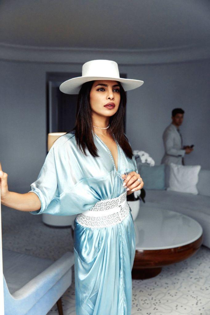 Actress Priyanka Chopra Jonas in Cannes, Paris on Friday. - Priyanka Chopra Jonas