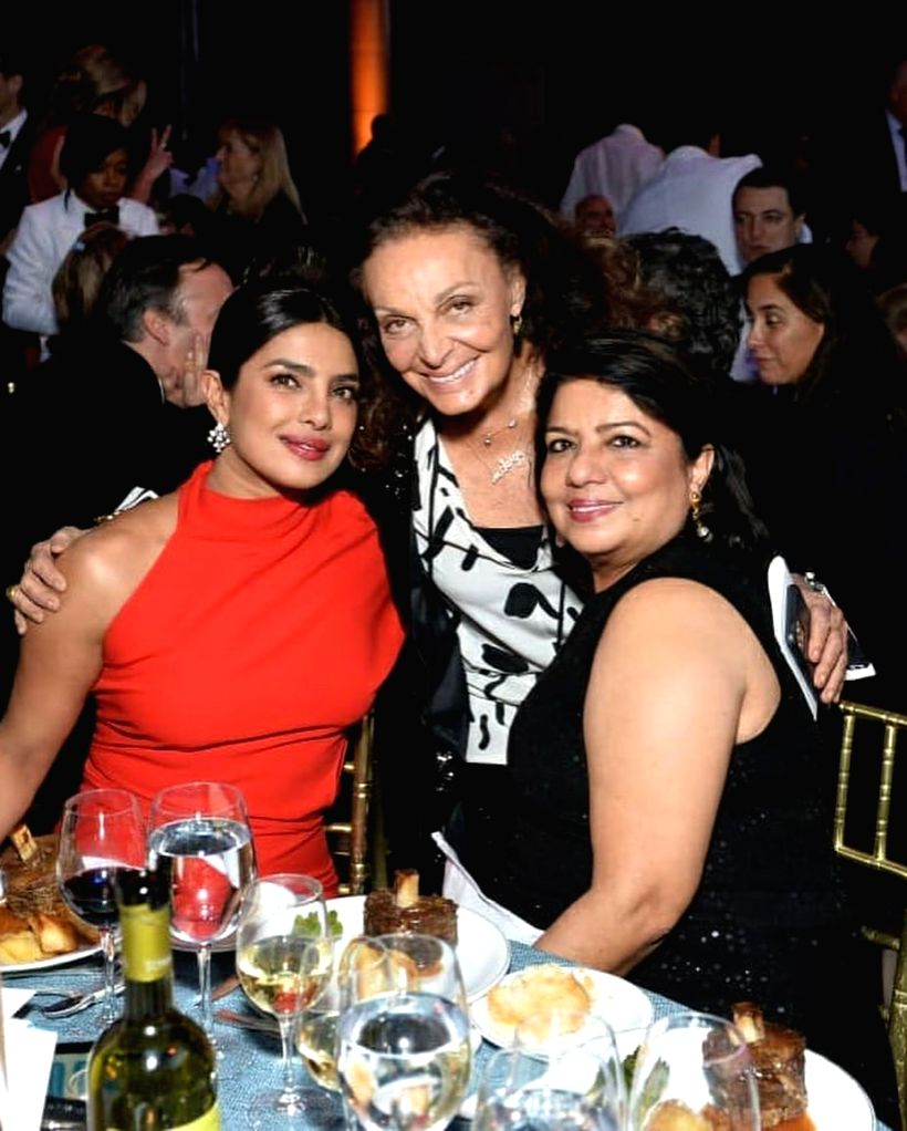 Actress Priyanka Chopra Jonas was honoured with the Danny Kaye Humanitarian Award for her philanthropic work as UNICEF Goodwill Ambassador for Child Rights. She was felicitated with the award at the ... - Priyanka Chopra Jonas