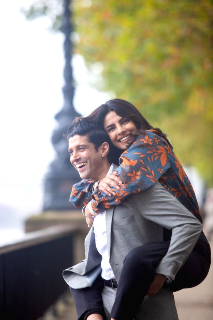"""Actress-producer Priyanka Chopra Jonas is on her way to Toronto, where her film """"The Sky Is Pink"""", helmed by Shonali Bose, will have its world premiere. The film will be screened at the ... - Priyanka Chopra Jonas and Shonali Bose"""