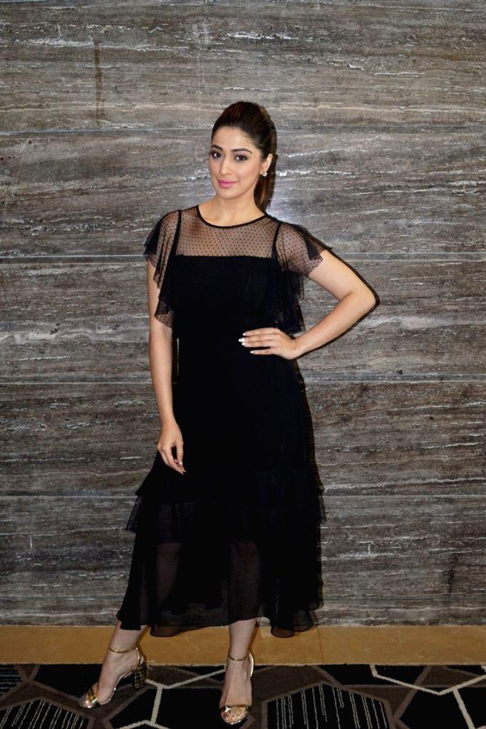 "Actress Raai Laxmi during the interview for her upcoming film ""Julie 2"" in Mumbai on Sept 26, 2017. - Raai Laxmi"