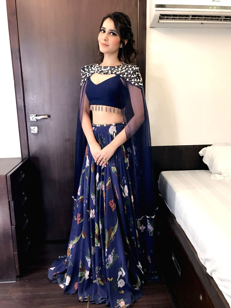 Actress Raashi Khanna stills in Hyderabad. - Raashi Khanna