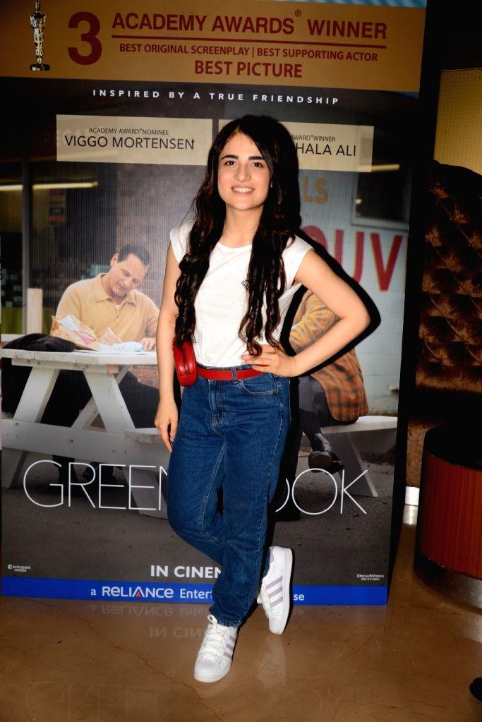 """Actress Radhika Madan at the screening of an Oscar winning film """"Green Book"""" in Mumbai, on  March 2, 2019. - Radhika Madan"""