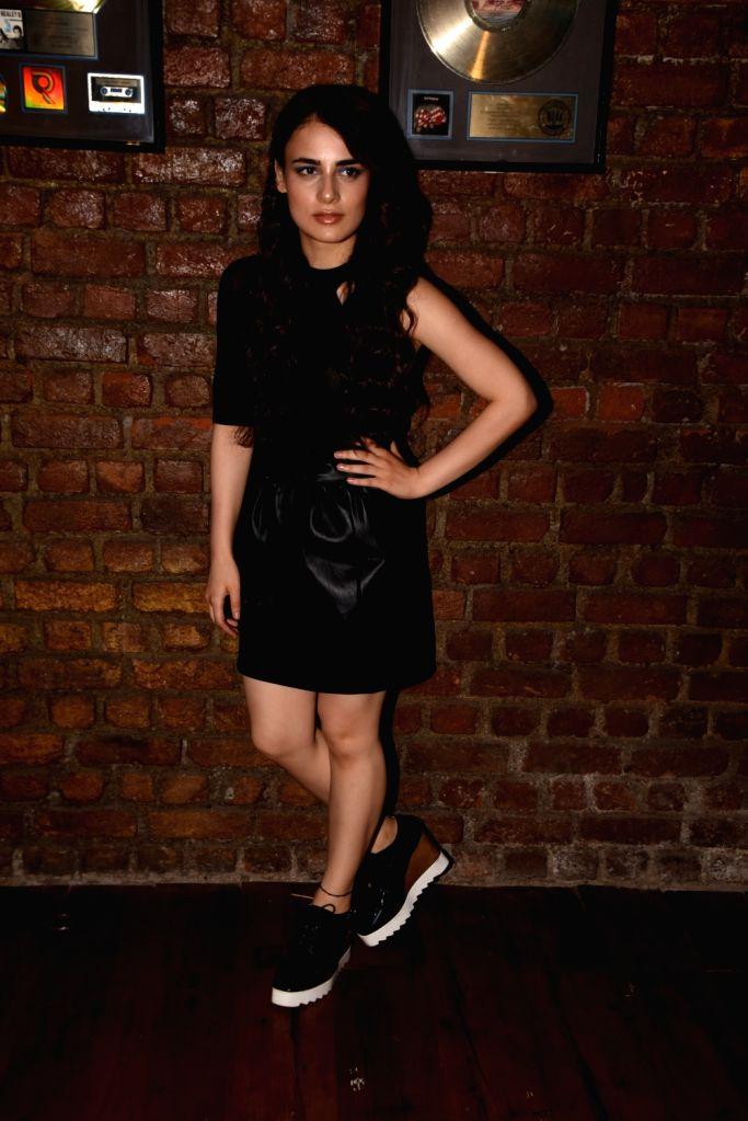 "Actress Radhika Madan during the promotions of her film ""Mard Ko Dard Nahi Hota"" in Mumbai on March 13, 2019. - Radhika Madan"