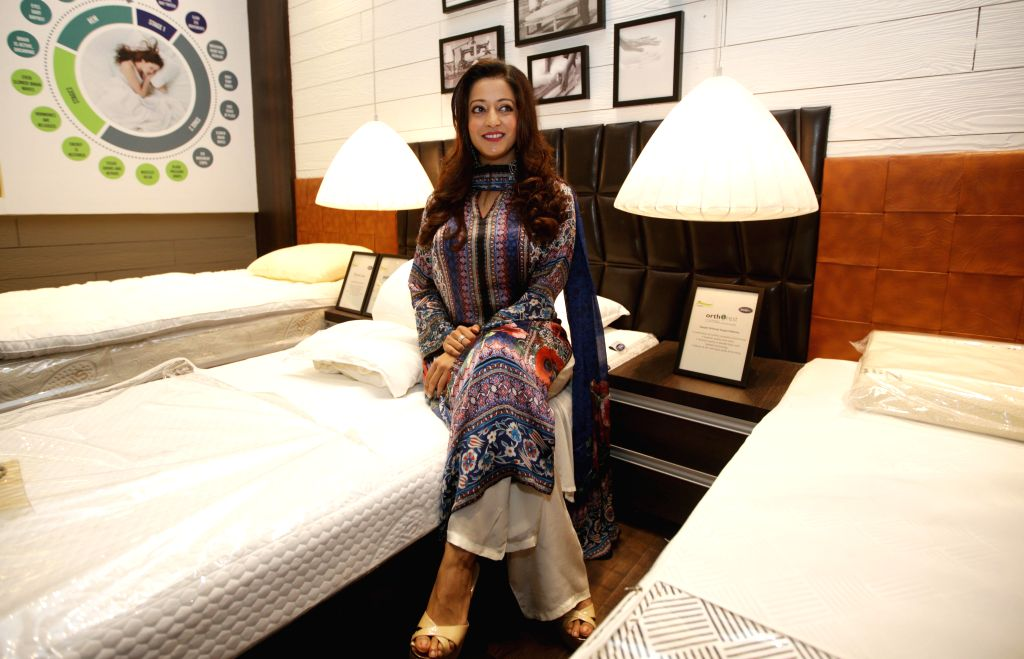 Actress Raima Sen at the launch of a boutique in Kolkata, on Aug 14, 2015.