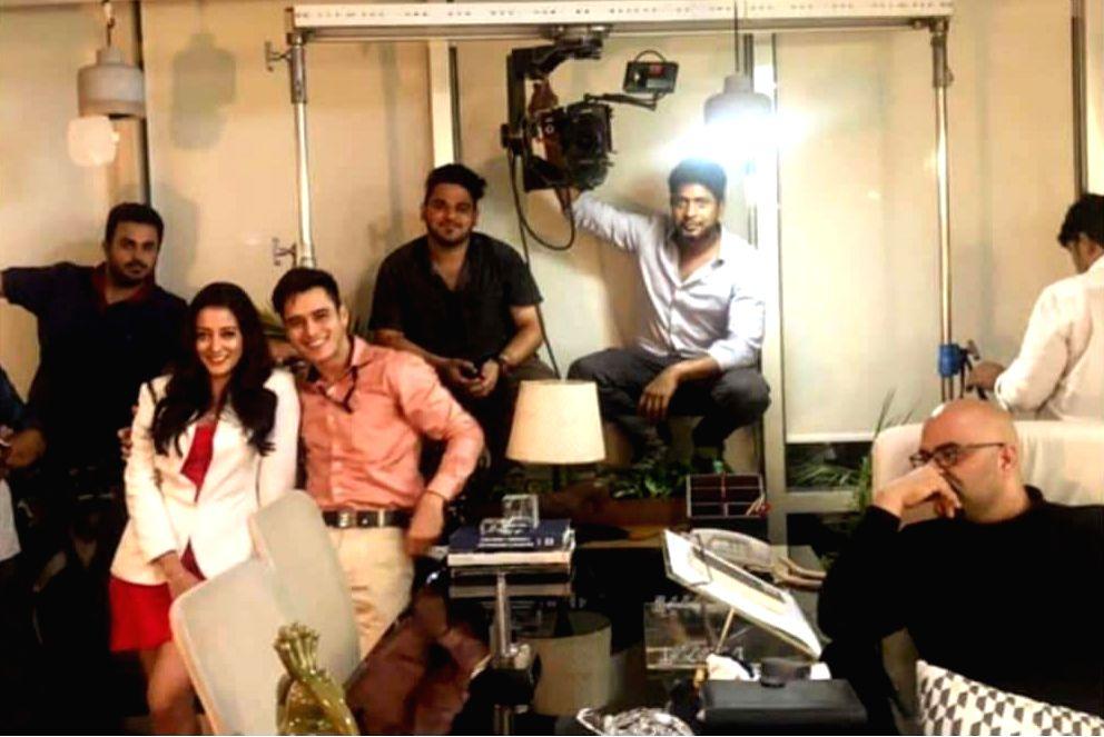 "Actress Raima Sen has started shooting for the new web show ""Love. Sleep. Repeat"". - Raima Sen"