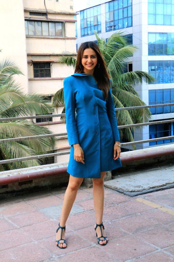 Actress Rakul Preet Singh seen at Andheri in Mumbai on May 18, 2019. - Rakul Preet Singh