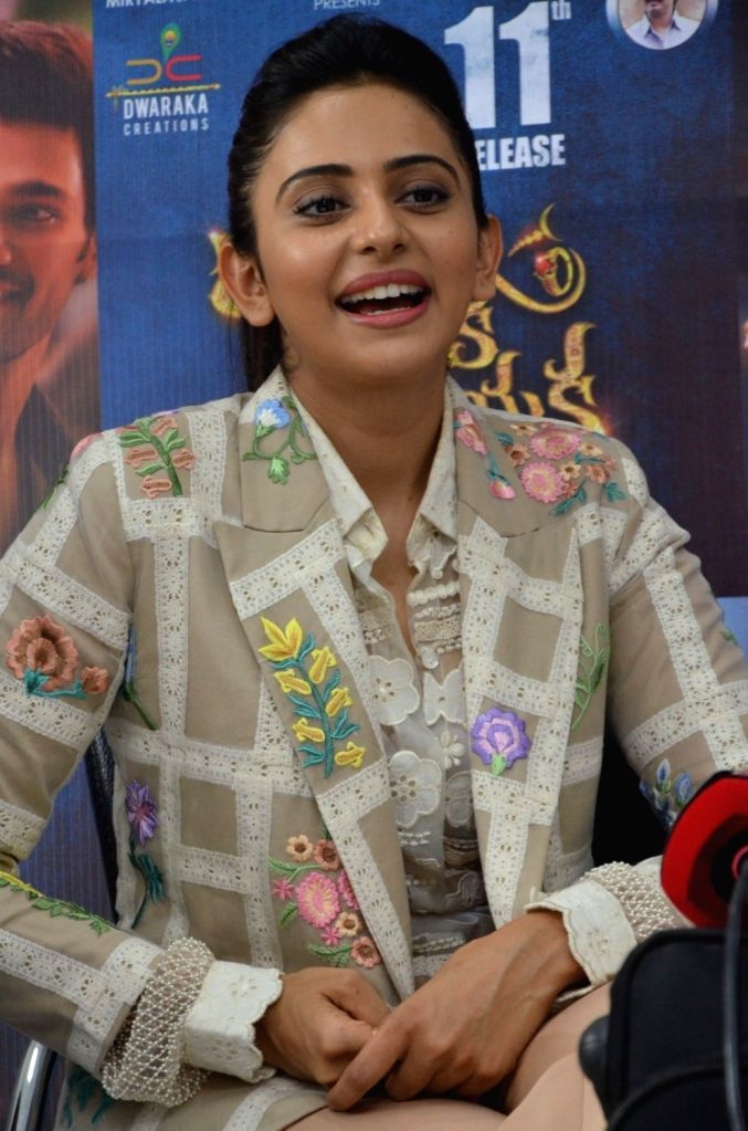 "Actress Rakul Preet Singh stills from Telugu film ""Jaya Janaki Nayaka "" in Hyderabad. - Rakul Preet Singh"