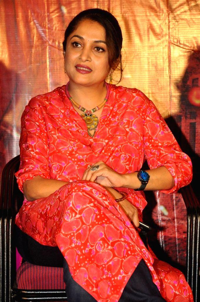 "Actress Ramya Krishnan at the trailer launch of film ""Maatangi"". - Ramya Krishnan"