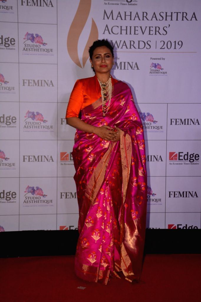 Actress Rani Mukerji at ET Edge Maharashtra Achievers' Awards 2019 in Mumbai, on March 14, 2019. - Rani Mukerji