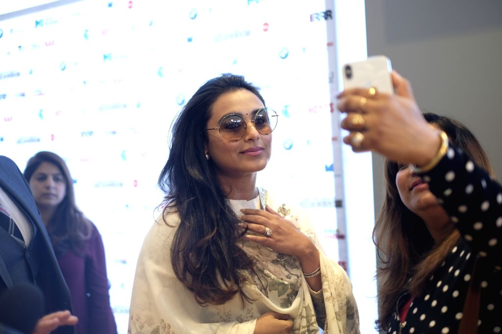 Actress Rani Mukerji at the Indian Film Festival of Melbourne (IFFM) in Melbourne on Aug 10, 2018. - Rani Mukerji