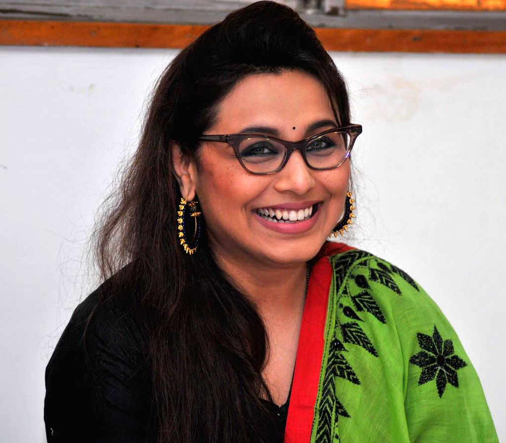 Actress Rani Mukherjee during a programme in New Delhi on Sept 4, 2014.