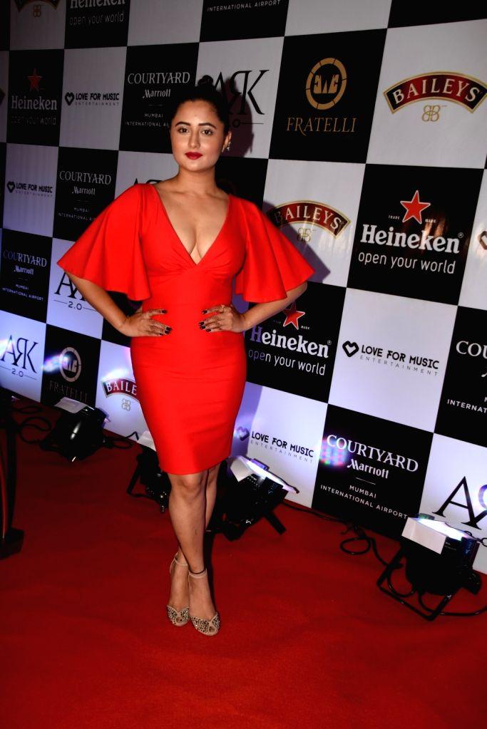 Actress Rashami Desai during a programme in Mumbai on Nov 1, 2018. - Rashami Desai