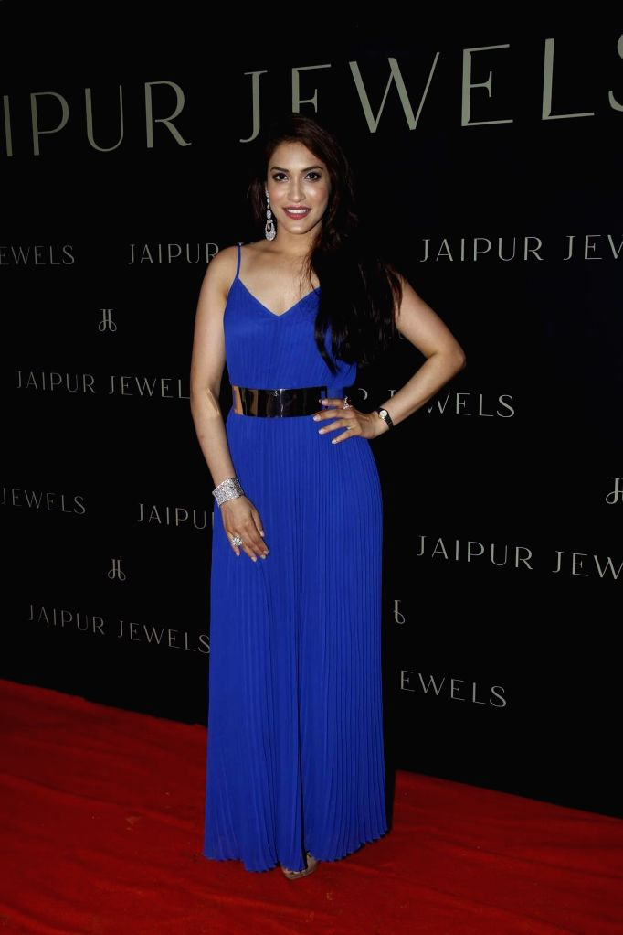 Actress Rashmi Nigam during the launch of Jewels new collection Rise Anew in Mumbai, on Aug 12, 2015. - Rashmi Nigam