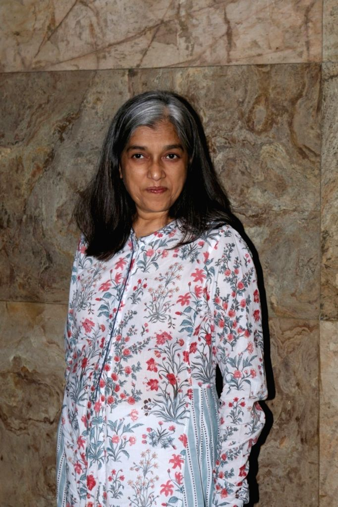 Actress Ratna Pathak during the special screening of short film Chutney in Mumbai, on Nov 28, 2016. - Ratna Pathak