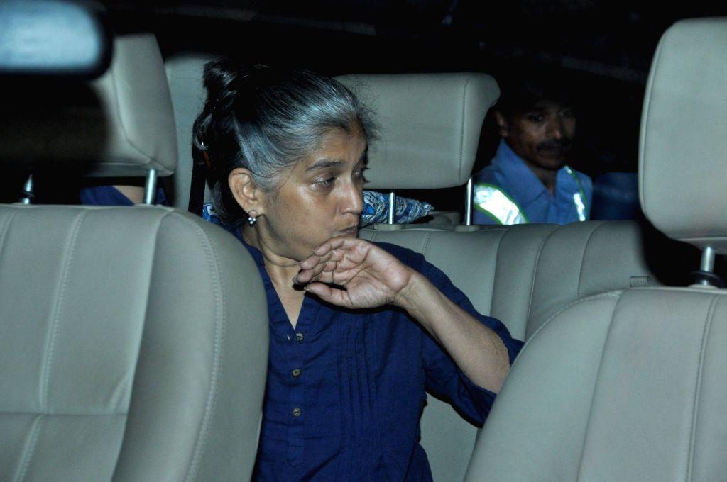 Actress Ratna Pathak spotted at Airport in Mumbai on June 28, 2016. - Ratna Pathak