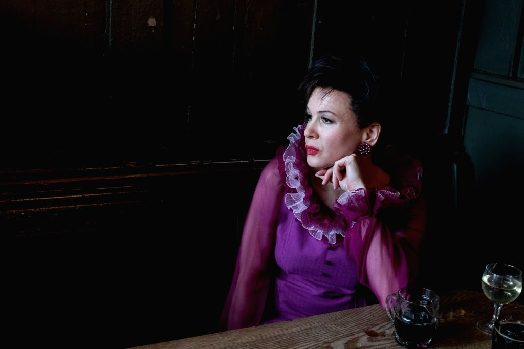 """Actress Renee Zellweger says singing for """"Judy"""" wasn't easy, but she didn't have time to think about being judged. The film traces the journey of an iconic star Judy Garland and her career during the last year of her life when she relocated her s - Renee Zellweger"""