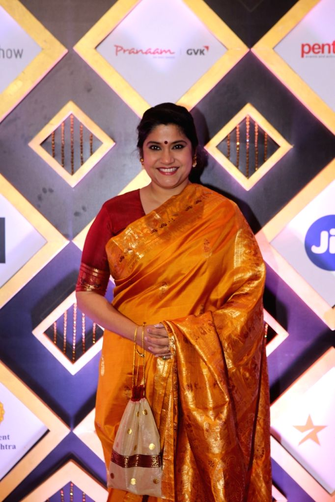 Actress Renuka Shahane at the Jio MAMI 20th Mumbai Film Festival concluded in Mumbai on Nov 1, 2018. - Renuka Shahane