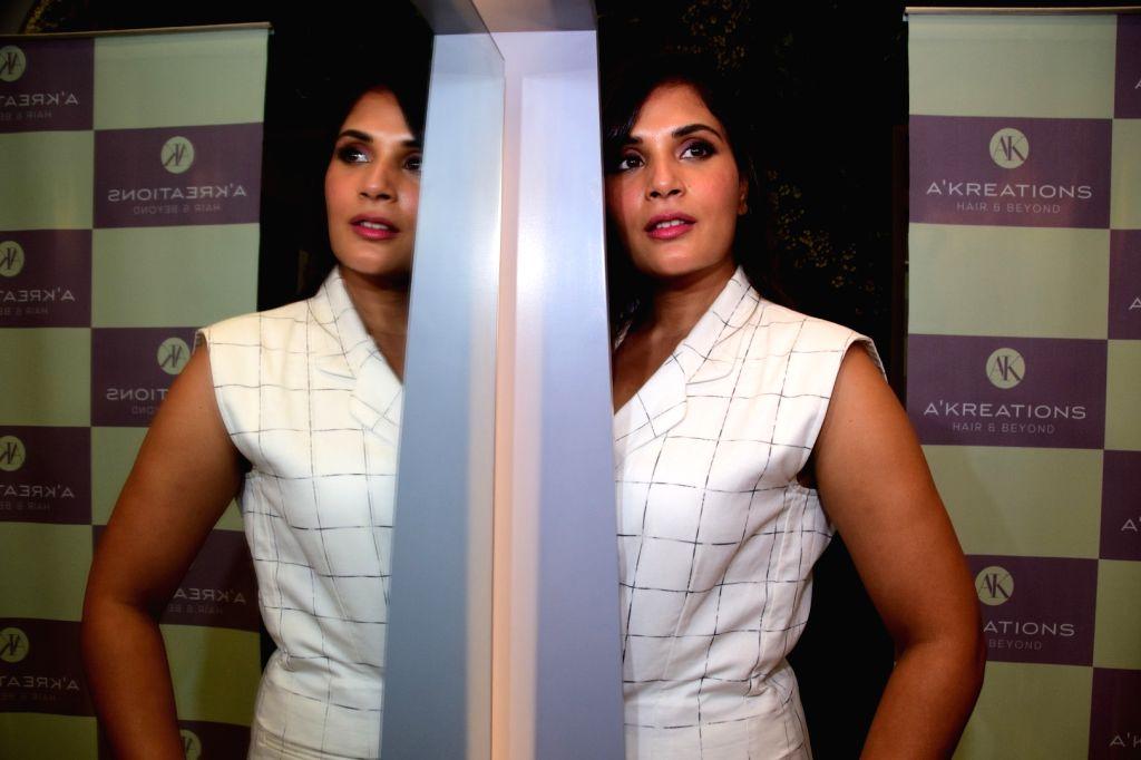 Actress Richa Chadda during a programme in Mumbai on June 9, 2017. - Richa Chadda