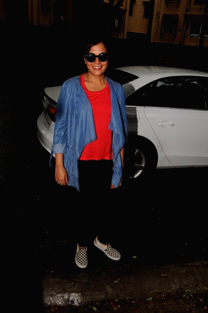 Actress Richa Chadda during the screening of Together, in Mumbai on June 27, 2017. - Richa Chadda