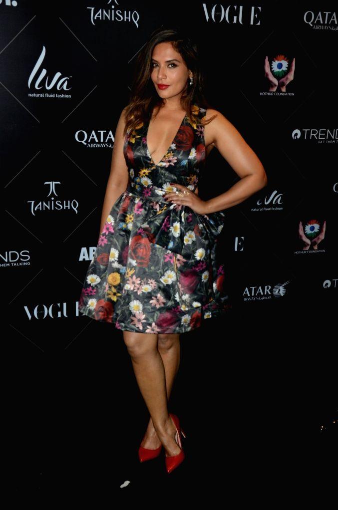 """Actress Richa Chadha at the red carpet of """"Vogue Beauty Awards"""" in Mumbai on July 31, 2018. - Richa Chadha"""