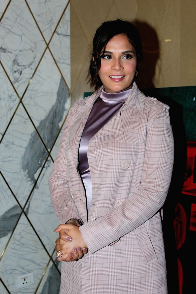 "Actress Richa Chadha at the trailer launch of her upcoming film ""Section 375"" in Mumbai on Aug 13, 2019. - Richa Chadha"
