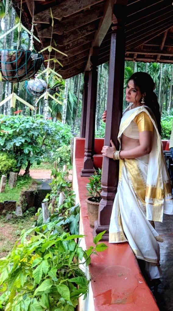 Actress Richa Chadha's first look from the biopic on glamorous actress Shakeela.. - Richa Chadh