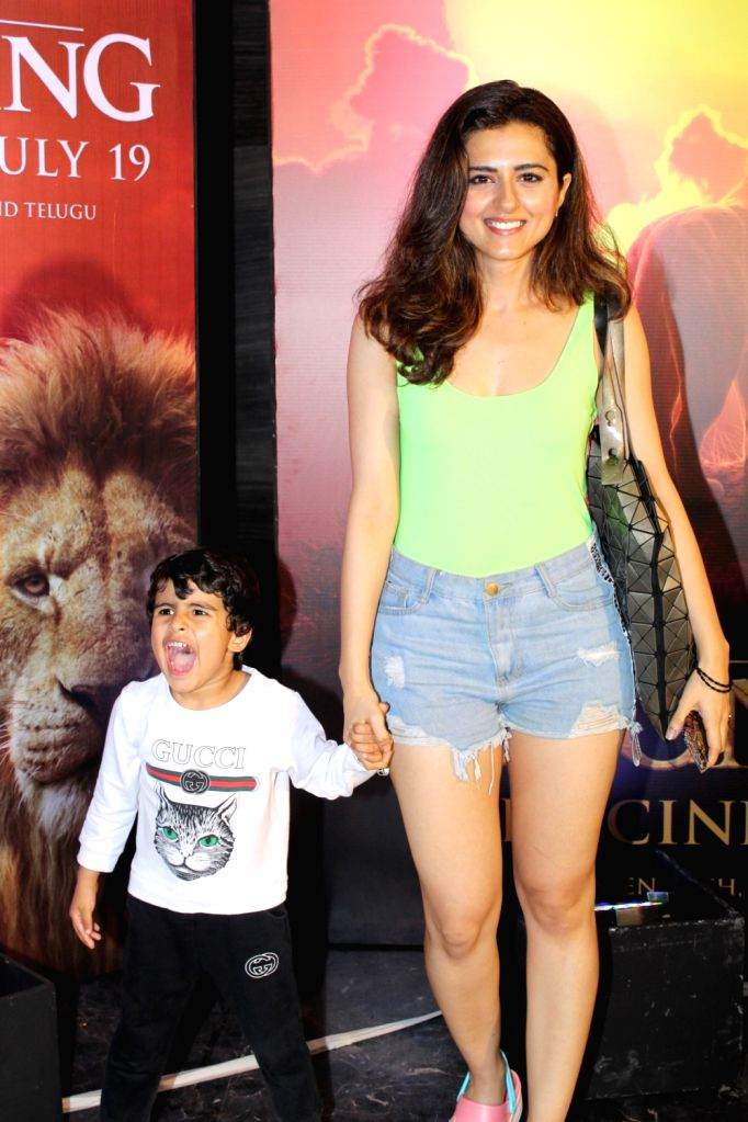 """Actress Ridhi Dogra at the special screening of upcoming animated film """"The Lion King"""" in Mumbai, on July 16, 2019. - Ridhi Dogra"""