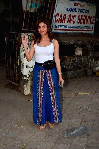Actress Ridhima Pandit seen at a Juhu salon in Mumbai on March 15, 2020. - Ridhima Pandit