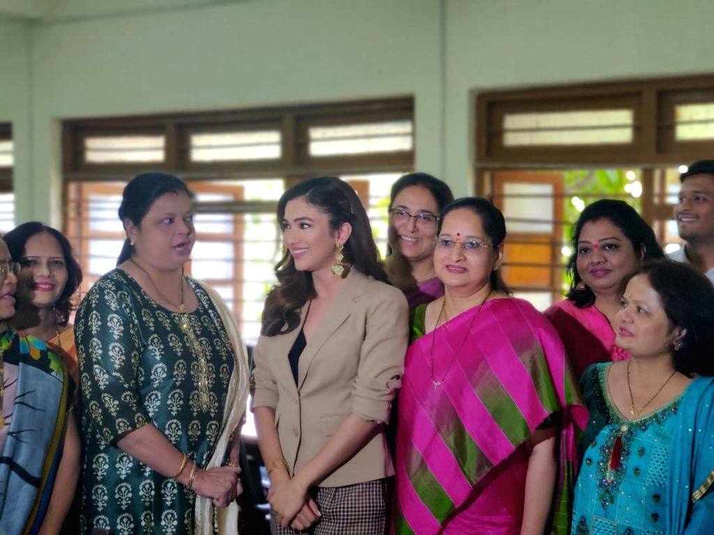 Actress Ridhima Pandit was invited by her school to be chief guest for the annual day and it was a big moment for her. - Ridhima Pandit