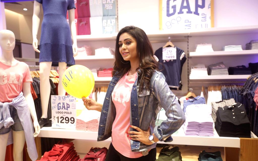 Actress Ritabhari Chakraborty during the launch of a GAP Store in Kolkata on April 12, 2018. - Ritabhari Chakraborty