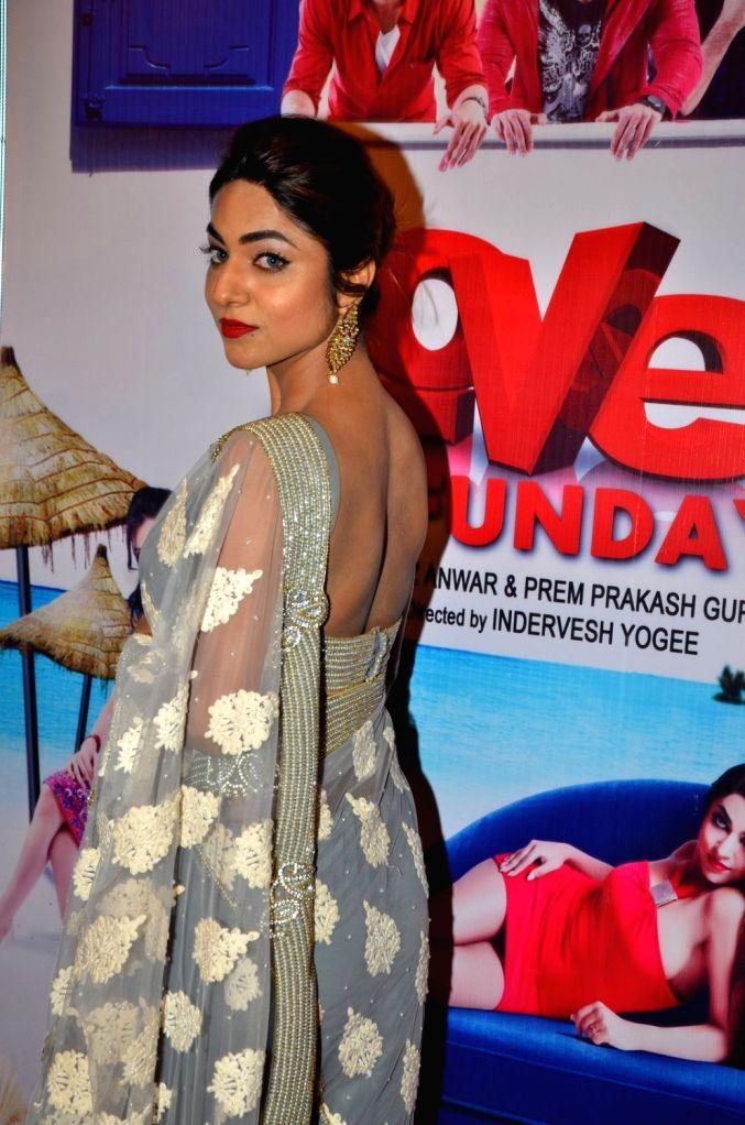Actress Ritika Gulati during the audio launch of film Love Ke Funday, in Mumbai on June 22, 2016. - Ritika Gulati