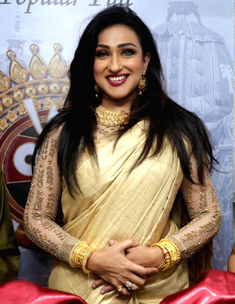 Actress Rituparna Sengupta during a programme in Kolkata on June 20, 2017. - Rituparna Sengupta