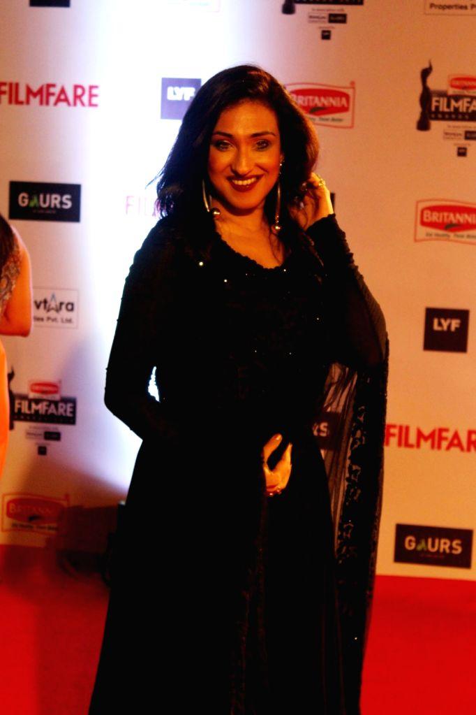 Actress Rituparna Sengupta during the 61st Britannia Filmfare Awards in Mumbai on January 15, 2016. - Rituparna Sengupta