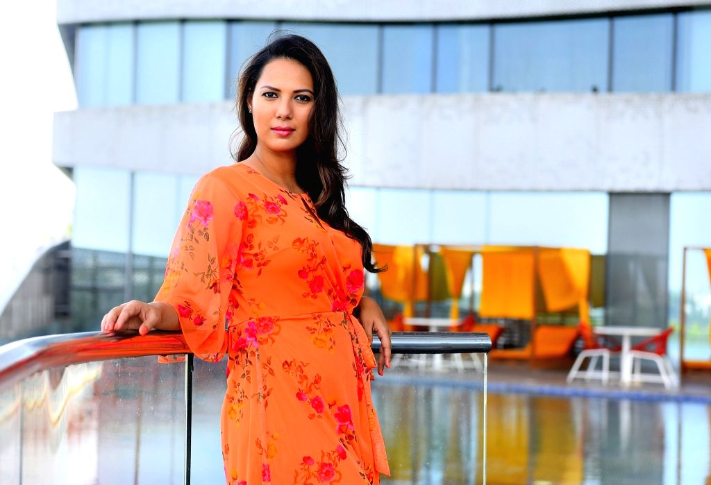 Actress Rochelle Rao during a photoshoot in Mumbai on May 23, 2018. - Rochelle Rao