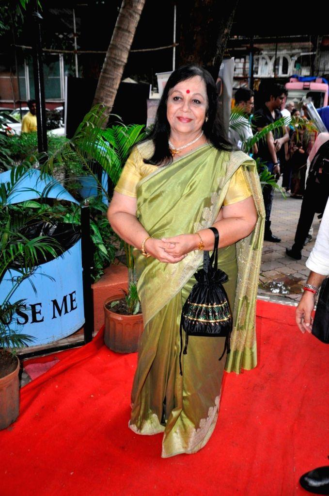 Actress Rohini Hattangadi during the 8th Golden Camera Film and Television Awards 2016 in Mumbai on July 9, 2016. - Rohini Hattangadi