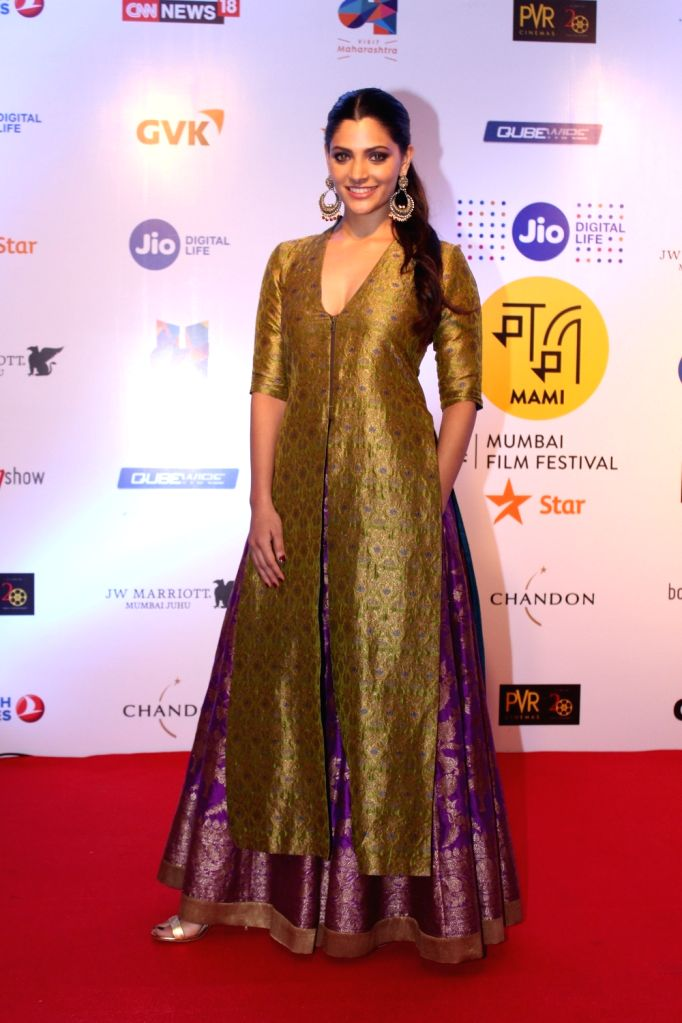Actress Saiyami Kher at Mami Movie Mela 2017 in Mumbai on Oct 12, 2017. - Saiyami Kher