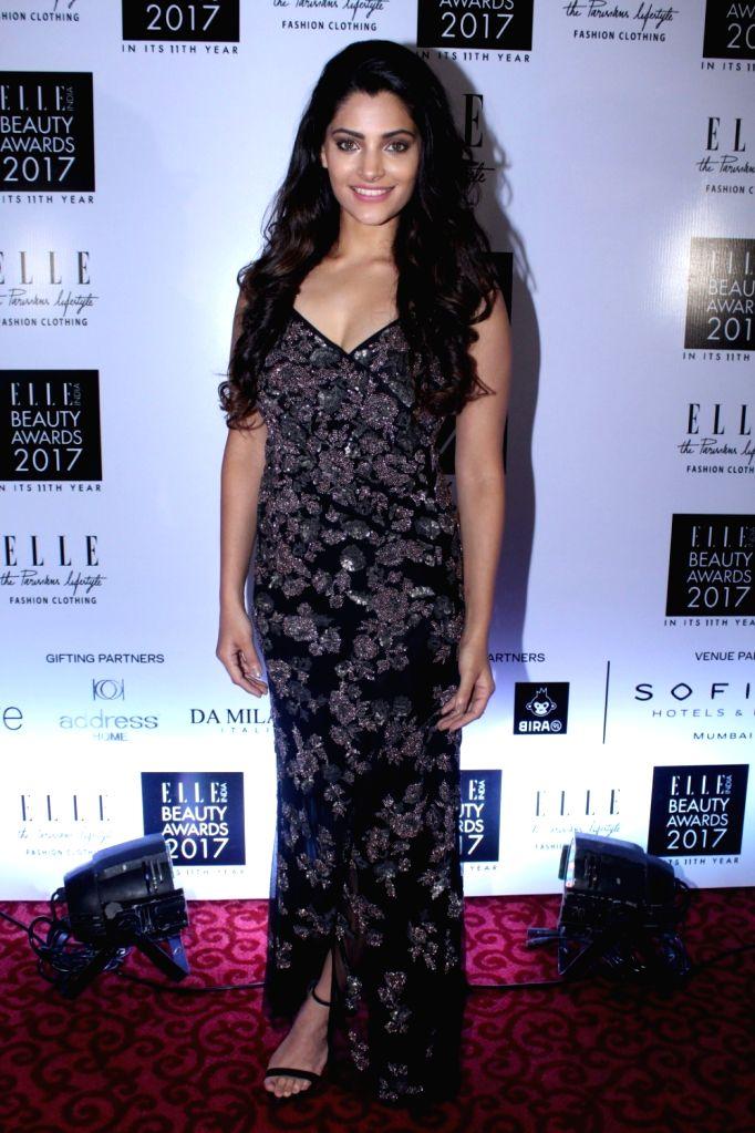 "Actress Saiyami Kher during the ""Elle India Beauty Awards 2017"" in Mumbai on Oct 4, 2017. - Saiyami Kher"
