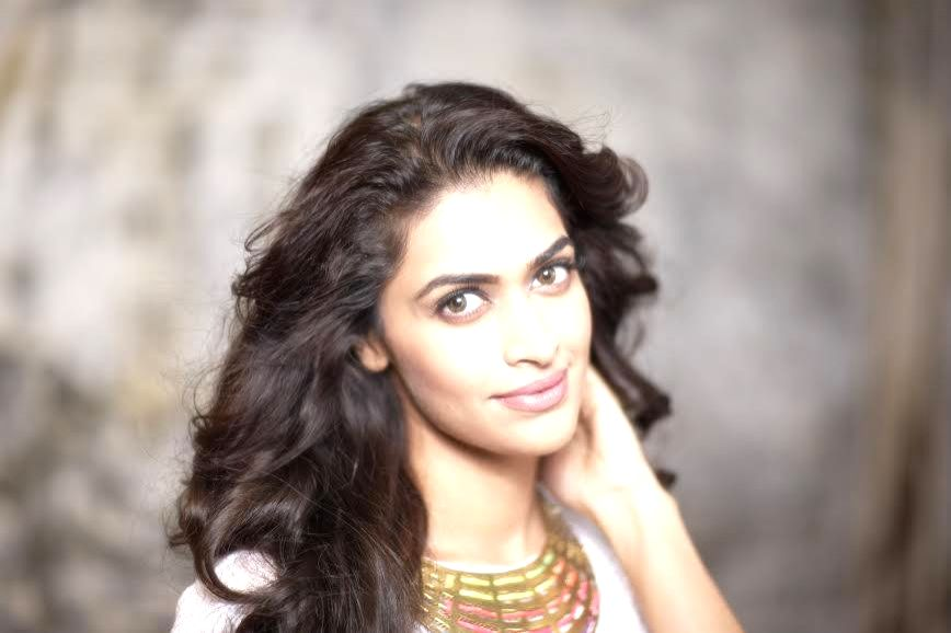 Actress Salony Luthra during a photoshoot.