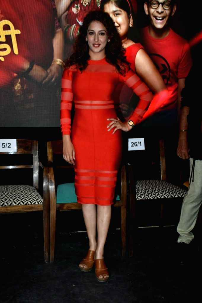 "Actress Sameksha during a press conference to promote her upcoming television show ""Khichdi"" in Mumbai on April 3, 2018. - Sameksha"