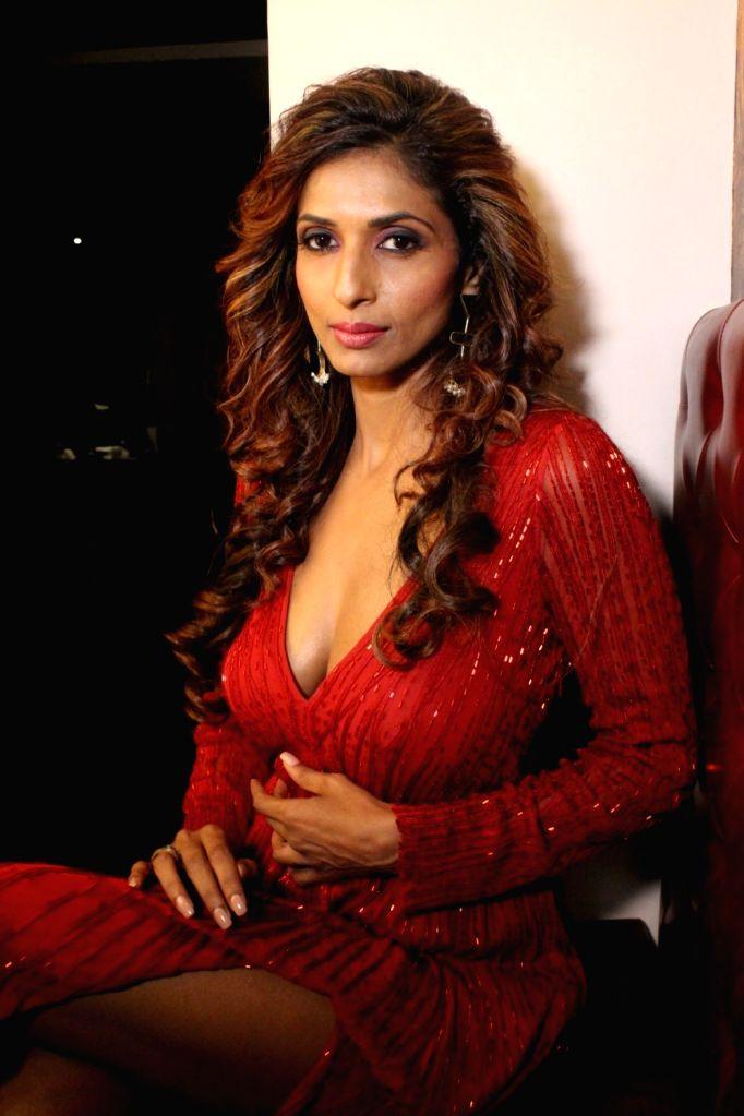 Actress Sandhya Shetty during a Glamourous photo shoot in Mumbai, on June 27, 2017. - Sandhya Shetty