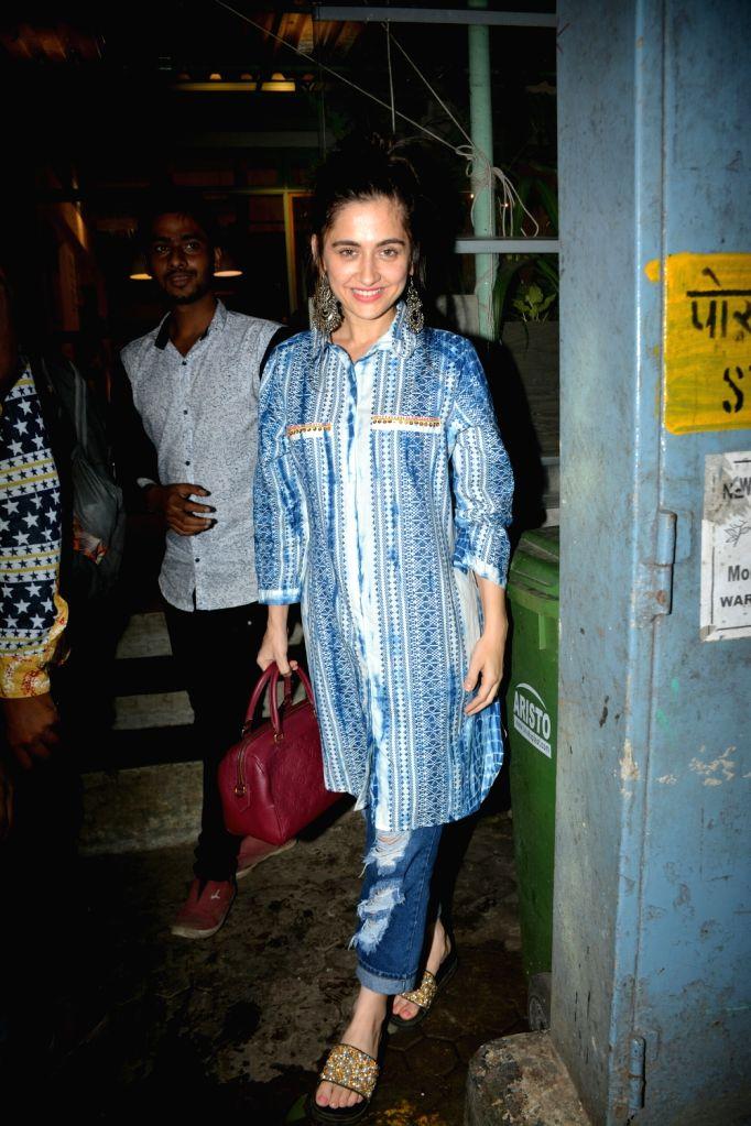 Actress Sanjeeda Shaikh seen at Mumbai's Bandra on July 29, 2018. - Sanjeeda Shaikh