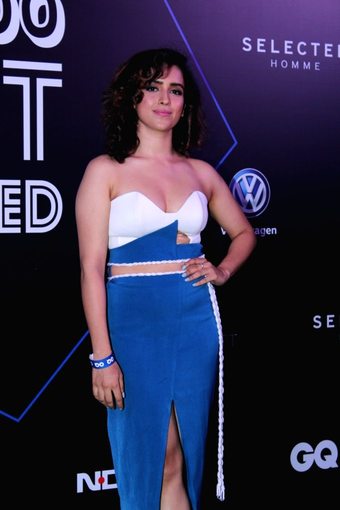 "Actress Sanya Malhotra at ""GQ 100 Best Dressed Awards 2019"", in Mumbai, on June 1, 2019. - Sanya Malhotra"