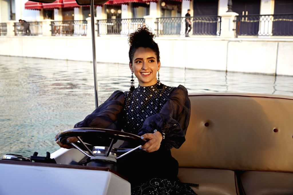 """Actress Sanya Malhotra enjoys to pack her bags and hit the road. She says she is someone who lives for creating experiences worth remembering. The """"Badhaai Ho"""" actress has many films in her kitty like """"Ludo"""", """"Shakuntala Devi"""" and """"Pagglait"""" but she  - Sanya Malhotra"""