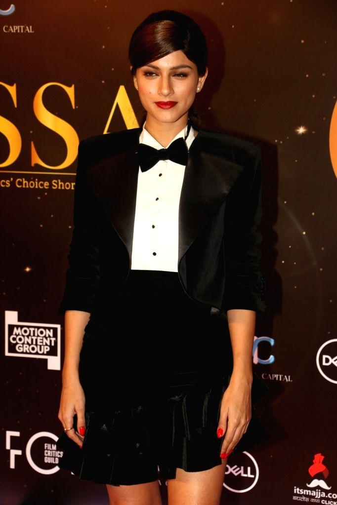 Actress Sapna Pabbi at the red carpet of Critics' Choice Awards in Mumbai on Dec 11, 2019. - Sapna Pabbi