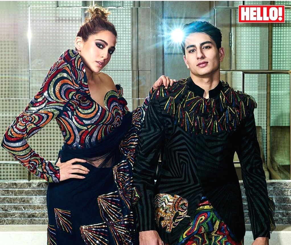Actress Sara Ali Khan and her brother Ibrahim Ali Khan's first magazine cover has taken the Internet by storm. - Sara Ali Khan