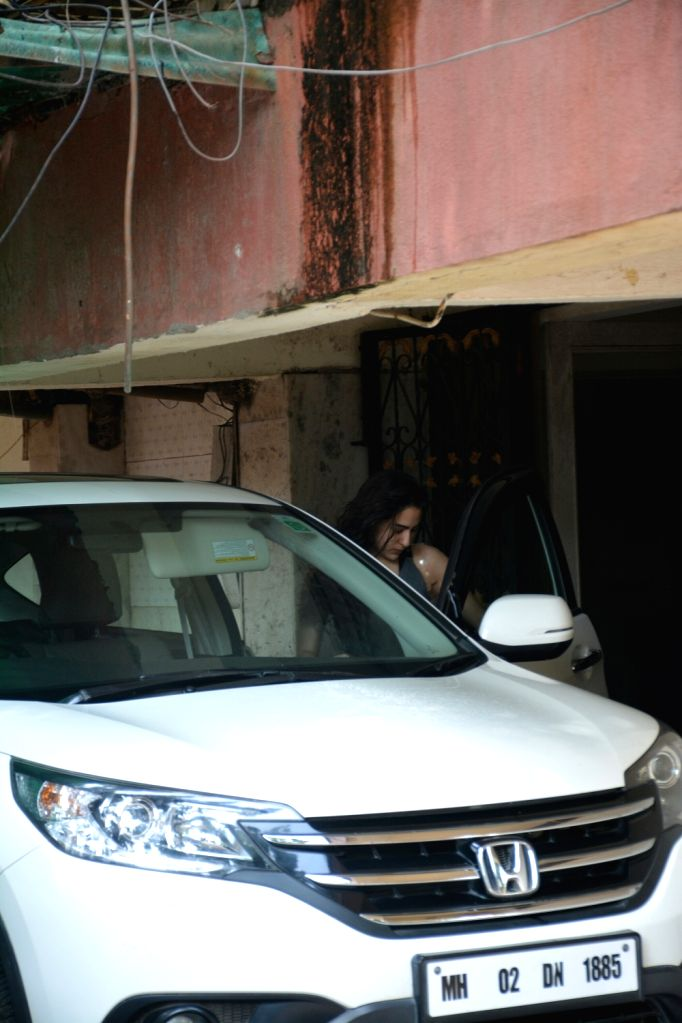 Actress Sara Ali Khan spotted outside her gym, in Mumbai, on July 29, 2018. - Sara Ali Khan