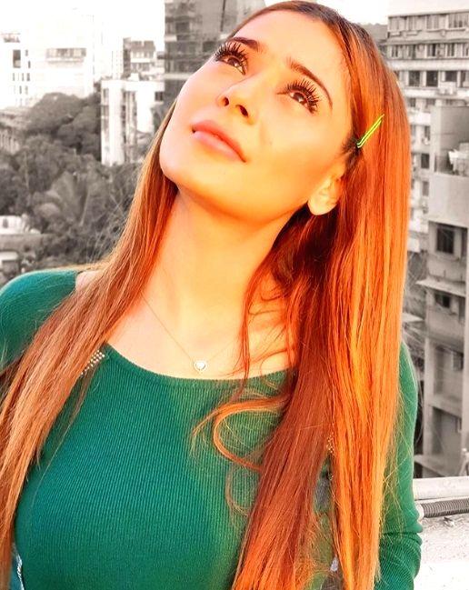 Actress Sara Khan. - Sara Khan